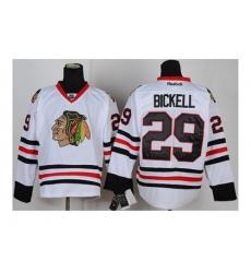 NHL Jerseys Chicago Blackhawks #29 Bickell white