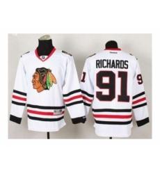 NHL Jerseys Chicago Blackhawks #91 Richards white