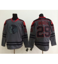 NHL chicago blackhawks #29 Bryan Bickell Charcoal Cross Check Jerseys