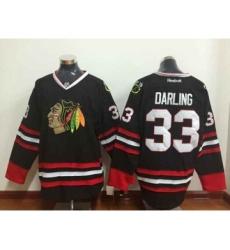 nhl jerseys chicago blackhawks #33 darling black[darling]