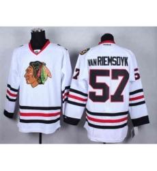 nhl jerseys chicago blackhawks #57 van riemsdyk white