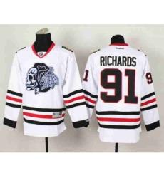 nhl jerseys chicago blackhawks #91 richards white-1[the skeleton head]