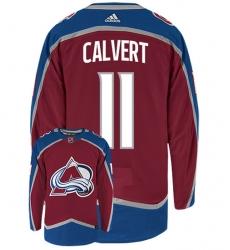 AVALANCHE 11 Matt CALVERT Home NHL Jersey