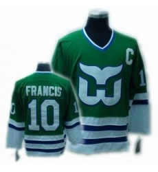 CCM Hartford Whalers jersey #10 FRANCIS jersey C patch