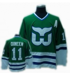 CCM Hartford Whalers jersey #11 Dineen jersey Green