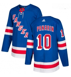 Rangers 10 Artemi Panarin Blue Adidas Jersey
