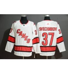 Rangers 37 Andrei Svechnikov White Adidas Jersey