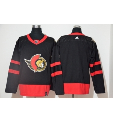 Men Ottawa Senators Blank Black 2020 21 Reverse Retro Adidas Jersey