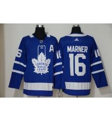 Maple Leafs 16 Mitch Marner Blue Adidas Jersey