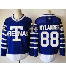 Maple Leafs 88 William Nylander Blue Authentic 1918 Arenas Throwback Stitched Hockey Jersey