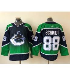 Men Vancouver Canucks Nate Schmidt 88 Adidas 2020 21 Reverse Retro Alternate NHL Jersey