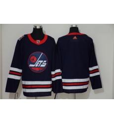 Winnipeg Jets Blank Navy 2019 Heritage Classic Breakaway Adidas Jersey
