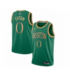 Celtics 0 Jayson Tatum Green Basketball Swingman City Edition 2019 20 Jersey