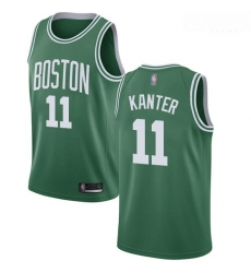 Celtics #11 Enes Kanter Green Basketball Swingman Icon Edition Jersey