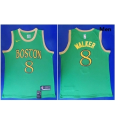 Celtics 8 Kemba Walker Green 2019 20 City Edition Swingman Jersey