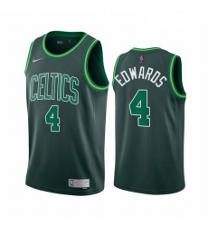 Men Boston Celtics 4 Carsen Edwards Green NBA Swingman 2020 21 Earned Edition Jersey