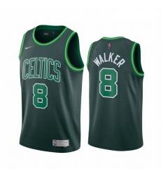 Men Boston Celtics 8 Kemba Walker Green NBA Swingman 2020 21 Earned Edition Jersey