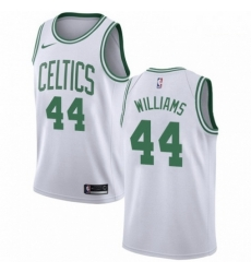Mens Nike Boston Celtics 44 Robert Williams Swingman White NBA Jersey Association Edition