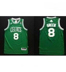 Revolution 30 Celtics 8 Jeff Green Green Stitched NBA Jers