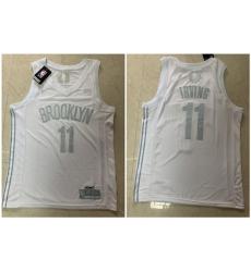 Nets 11 Kyrie Irving White Nike Swingman MVP Jersey