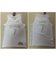 Nets 7 Kevin Durant White Nike Swingman MVP Jersey