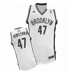 Revolution 30 Nets 47 Andrei Kirilenko White Home Stitched NBA Jersey