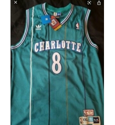 Charlotte 8 Kobe Bryant Teal Throwback Jersey