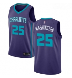 Hornets #25 PJ Washington Purple Basketball Jordan Swingman Statement Edition Jersey
