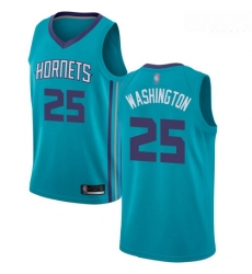 Hornets #25 PJ Washington Teal Basketball Jordan Swingman Icon Edition Jersey