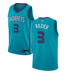 Hornets  3 Terry Rozier Teal Basketball Jordan Swingman Icon Edition Jersey
