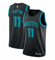 Men Cody Martin Charlotte Hornets Swingman Black Edition Jersey