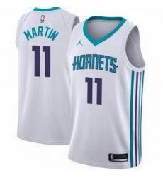 Men Cody Martin Charlotte Hornets Swingman White Jersey