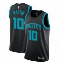 Men's Caleb Martin Charlotte Hornets Swingman Black Edition Jersey