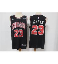 Men Chicago Bulls Michael Jordan 23 Swingman Black 2021 Jordan Brand Jersey