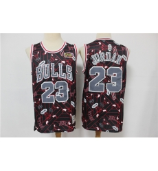 Men Chicago Bulls Micheal Jordan 23 hwc jersey tear up pack Swingman Jersey