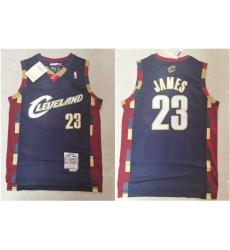 Cavaliers 23 Lebron James Black 2003 04 Hardwood Classics Jersey