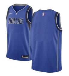 Men NBA Dallas Maverick Blank Blue Nike Jersey