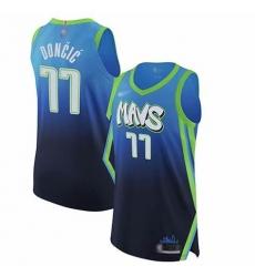 Men Nike Dallas 77 luka doncic 2020 City Edition NBA Jersey