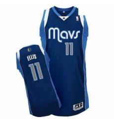 Revolution 30 Mavericks 11 Monta Ellis Navy Blue Stitched NBA Jersey