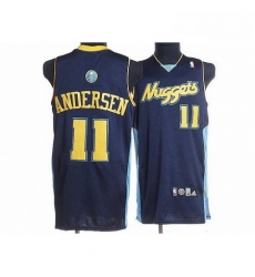 Nuggets 11 Chris Andersen Stitched Dark Blue NBA Jersey