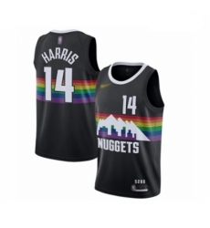 Youth Denver Nuggets #14 Gary Harris Swingman Black Basketball Jersey - 2019 20 City Edition