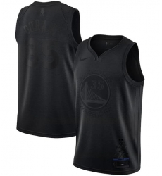 Men's Golden State Warriors Kevin Durant Nike Black MVP Swingman Jersey