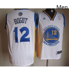 Warriors 12 Andrew Bogut White Stitched NBA Jersey