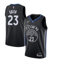 Warriors  23 Draymond Green Black Basketball Swingman City Edition 2019 20 Jersey
