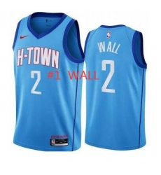 #1 WALL Blue Jersey