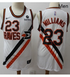 Clippers #23 Louis Williams White Basketball Swingman Hardwood Classics Jersey