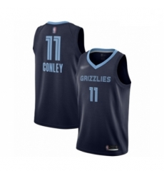 Grizzlies 11 Mike Conley Navy Blue Basketball Swingman Icon Edition Jersey