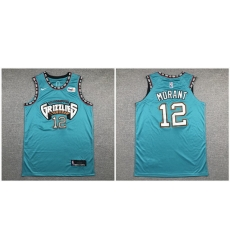 Grizzlies 12 Ja Morant Green Nike Authentic Jersey