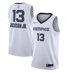 Grizzlies 13 Jaren Jackson Jr  White Basketball Swingman Association Edition Jersey