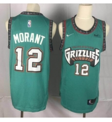 Men NBA Grizzlies  Ja Morant Grenn Jersey